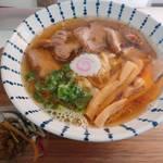 びせり - 料理写真:手作りチャーシューのせ煮干しラーメン
