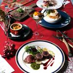 シャムロック バイ アボット チョイス - 料理写真:クリスマスディナーコース