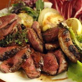 お肉のロースト盛り合わせ3800円