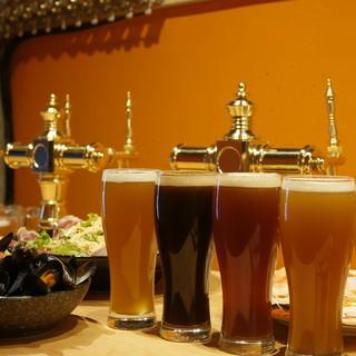自社醸造のどこよりもフレッシュなクラフトビール!