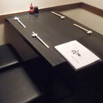 蕎麦・酒・小料理 壱 - 奥の4人席