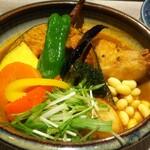 Rojiura Curry SAMURAI.  - チキンと野菜