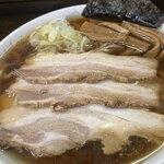 太麺屋 - 料理写真:太麺・普通盛り・あぶらっぽく