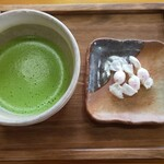 寺Cafe 蓮心庵 - お抹茶甘味付き