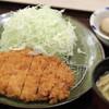 かつ庵 - 料理写真:ロースかつ定食。