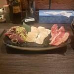 ウシマル - 晩酌セットの肉
