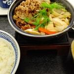 吉野家 - 料理写真:牛すき鍋膳(191118→)