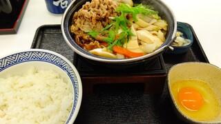 吉野家 - 牛すき鍋膳(191118→)