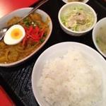 大肚魚飯店 - カレーチキン定食