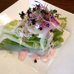 洋食屋 神戸デュシャン - サラダ