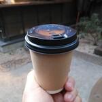 121153521 - ホットコーヒーでホッと。