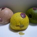 和っ花 - 蒸饅頭 桜・焼き芋・抹茶