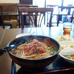 瑩瑩 - 台湾ラーメンと半チャーハンの定食