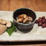 12116580 - お豆さん三種(白花豆、大豆、金時豆)あっぷ