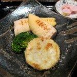 12116584 - 筍と長芋のステーキあっぷ