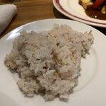 Daurade - ランチセットの雑穀米