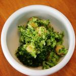 トータス - トータス ブロッコリとひよこ豆のサラダ(サービス)(2012.3.16撮影)