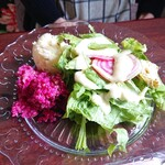 マリーチサーカスカフェ - セットのサラダ