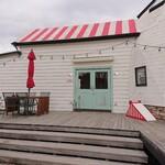 マリーチサーカスカフェ - カフェの入口