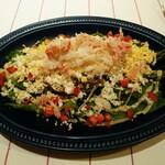 ラ ポルトルージュ - グリーンアスパラとズワイガニのサラダ  1,500円