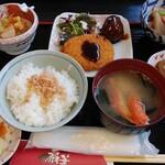 食の心 扇華 - 日替わりランチ