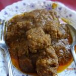 パクカレーレストラン - 骨付き肉がゴロゴロ