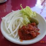 パクカレーレストラン - サラダ