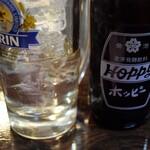 福よし - ホッピー白セット 350円