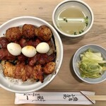 栄一 - 焼鳥丼 1,150円(税込)
