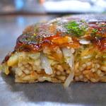 お多福 - 生地の上にすぐ麺の証拠画像