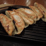 中国料理 敦煌 - 焼き餃子