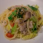 ソルジェンテ - 豚肉ときゃべつのパン粉がけスパゲティ(ランチ)