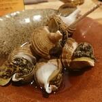 炭火焼大衆酒場 御厨 - 煮つぶ貝