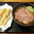 とんがらし - 料理写真:鴨まみれ蕎麦 + 小エビ天 ¥650 + ¥260