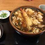 かまくら - 料理写真:天親子蕎麦 大盛り