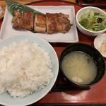 お好み焼き文字平 - 伊達鶏の照り焼きランチ
