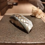 鮨 せいざん - 小鰭/酢じめ