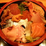 四季さかな - 大漁海鮮丼(1,750円)