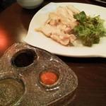 避風塘 - 海南蒸し鶏(680円)