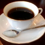 サバ - モーニングBセットのホットコーヒー
