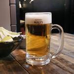 丈ちゃん - ビール