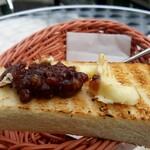 淡路坂珈琲 - 餡バタートースト