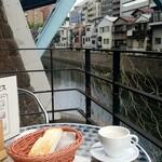 淡路坂珈琲 - リバーサイド