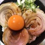 オロチョン ラーメン - ミニチャーシュー丼