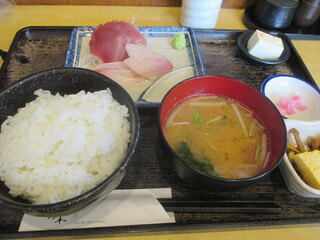 おおさわ - 「刺身定食」(850円)