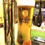 オロチョン ラーメン - サッポロビール生樽 ソラチ