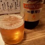 121207809 - 瓶ビール(KIRIN一番搾り)