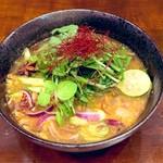 東南アジア食堂 マラッカ - アッサムラクサ 大阪のオリジナルラクサヌードル(米粉麺)