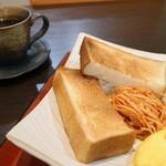 町家カフェ かぎや - 料理写真:贅沢モーニング