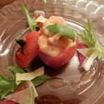 121212707 - トマトと小海老のファルシー仕立て
